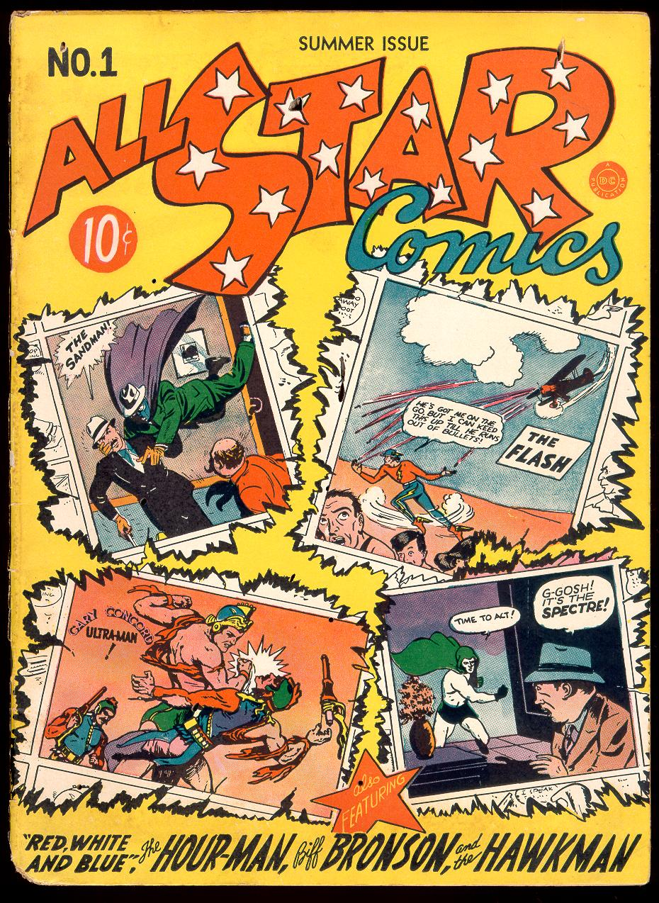 Read online All-Star Comics comic -  Issue #1 - 1