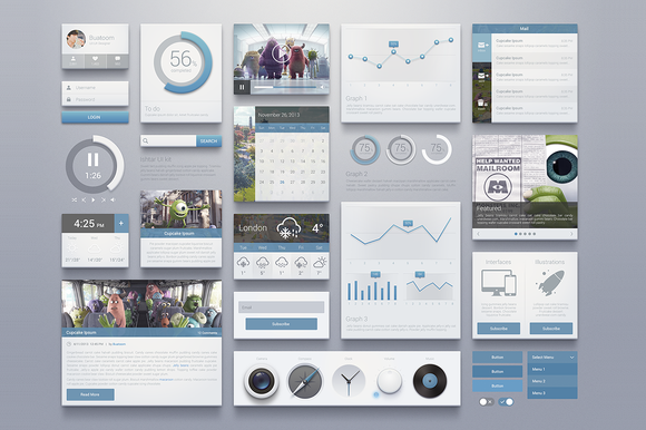 Ishtar Kit – Graphics Web Elements