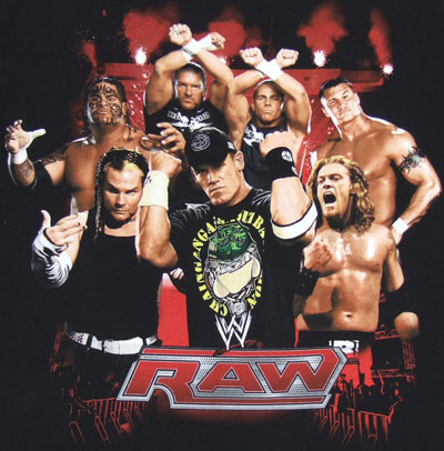 WWE Monday Night RAW 03 Aug 2015 HDTV 480p 500MB