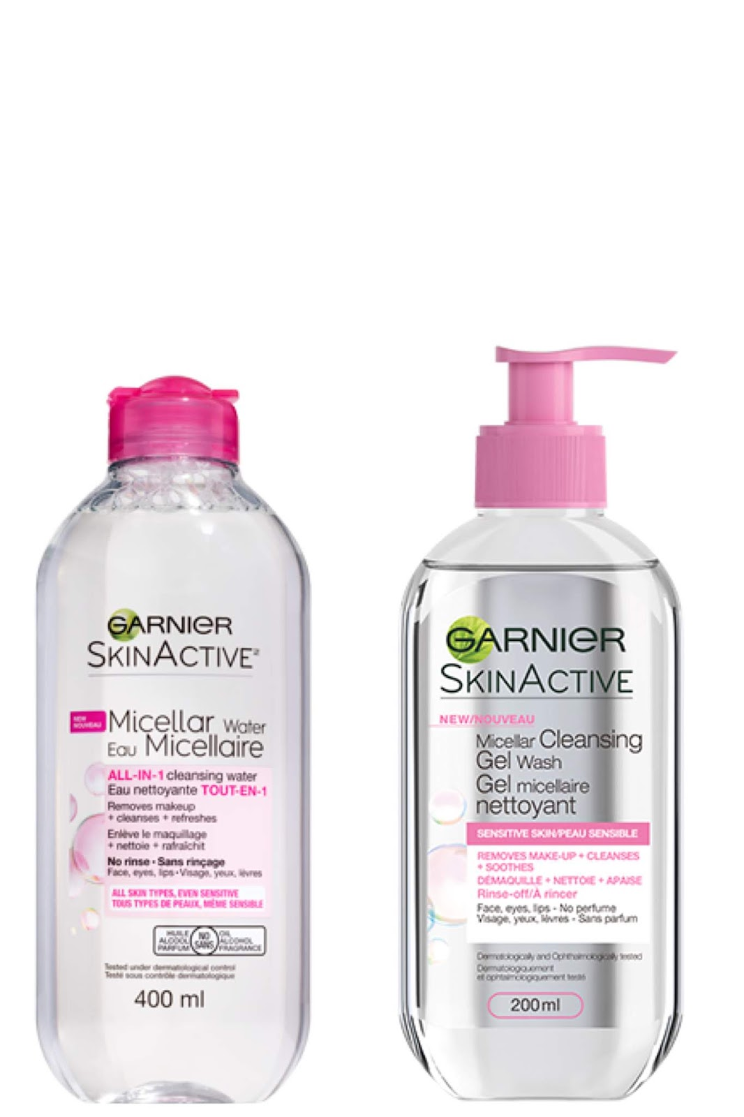 SkinActive Micellar Cleansing Water  by garnier #17