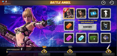 Free Fire baru - baru ini telah meluncurkan event terbarunya Battle Angel. Dalam event ini kamu akan mendapatkan berbagai hadiah dan hadiah utamanya adalah bundle yang namanya Battle Angel yang keren. Berikut penjelasan lengkap event Battle Angel Free Fire.