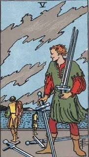 Five of Swords, RWS