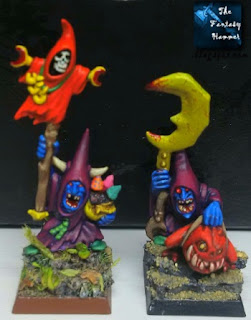 Night Goblins Shaman and Warboss base tutorial