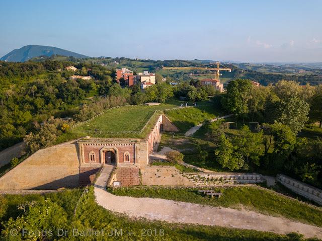 Forte Altavilla — Accès, plateforme & rampe d'artillerie