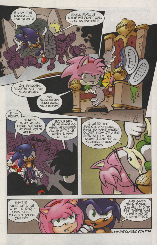 Read online Sonic The Hedgehog comic -  Issue #193 - 18