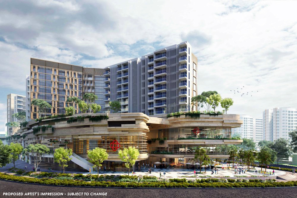 Buangkok MRT Mixed Development