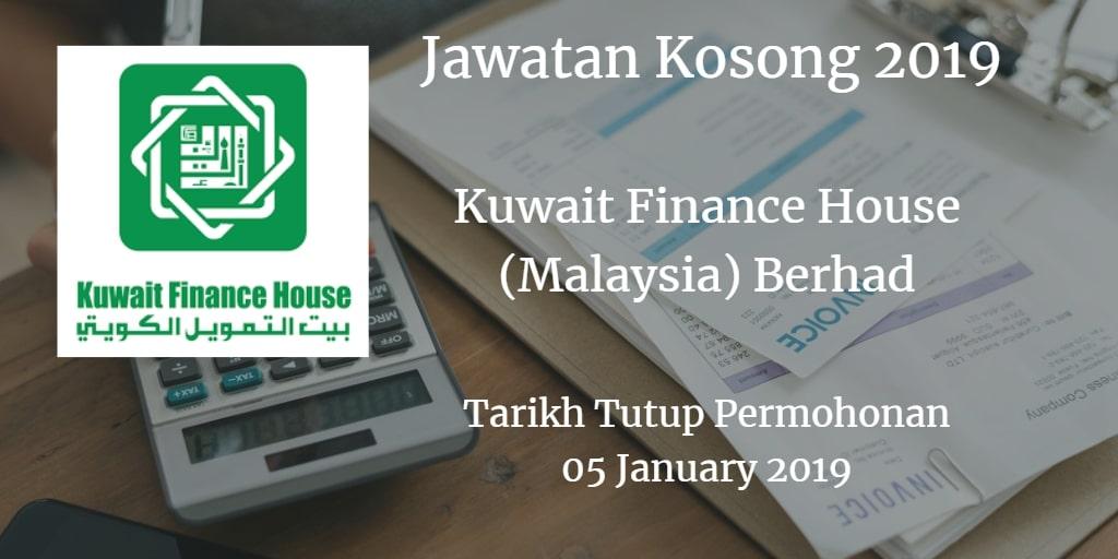 Jawatan Kosong KFH 05 January 2019