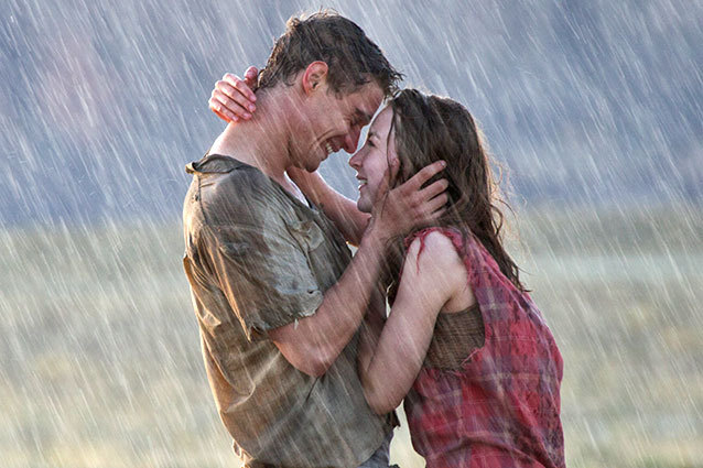 The Host Kissing In The Rain