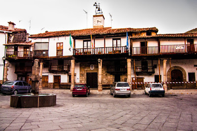 Visitar Plaza Mayor Valverde la Vera Cáceres