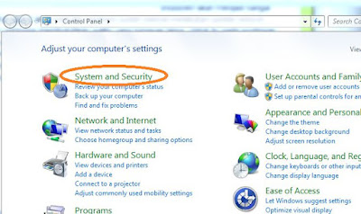 Mematikan windows update di windows 7