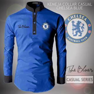 Kemeja Distro Bola Casual Chelsea