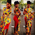 Checkout This Beautiful Aso Ebi Styles Sewn With Kente Fabric