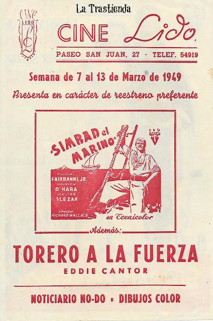 Programa de Cine - Simbad El Marino