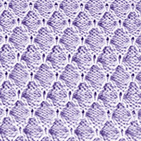 Trellis stitch pattern #SlipStitchKnitting