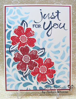 http://savvyhandmadecards.blogspot.ca/2017/06/red-and-blue-just-for-you-card.html
