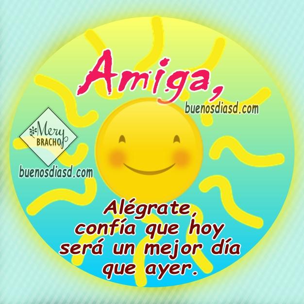 Frases, mensajes bonitos para dar los buenos días con buenos deseos y lindas imágenes para facebook por Mery Bracho.