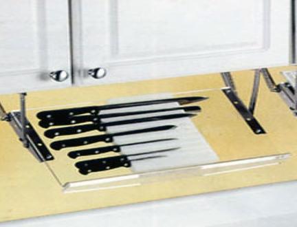kitchen knife display cabinet