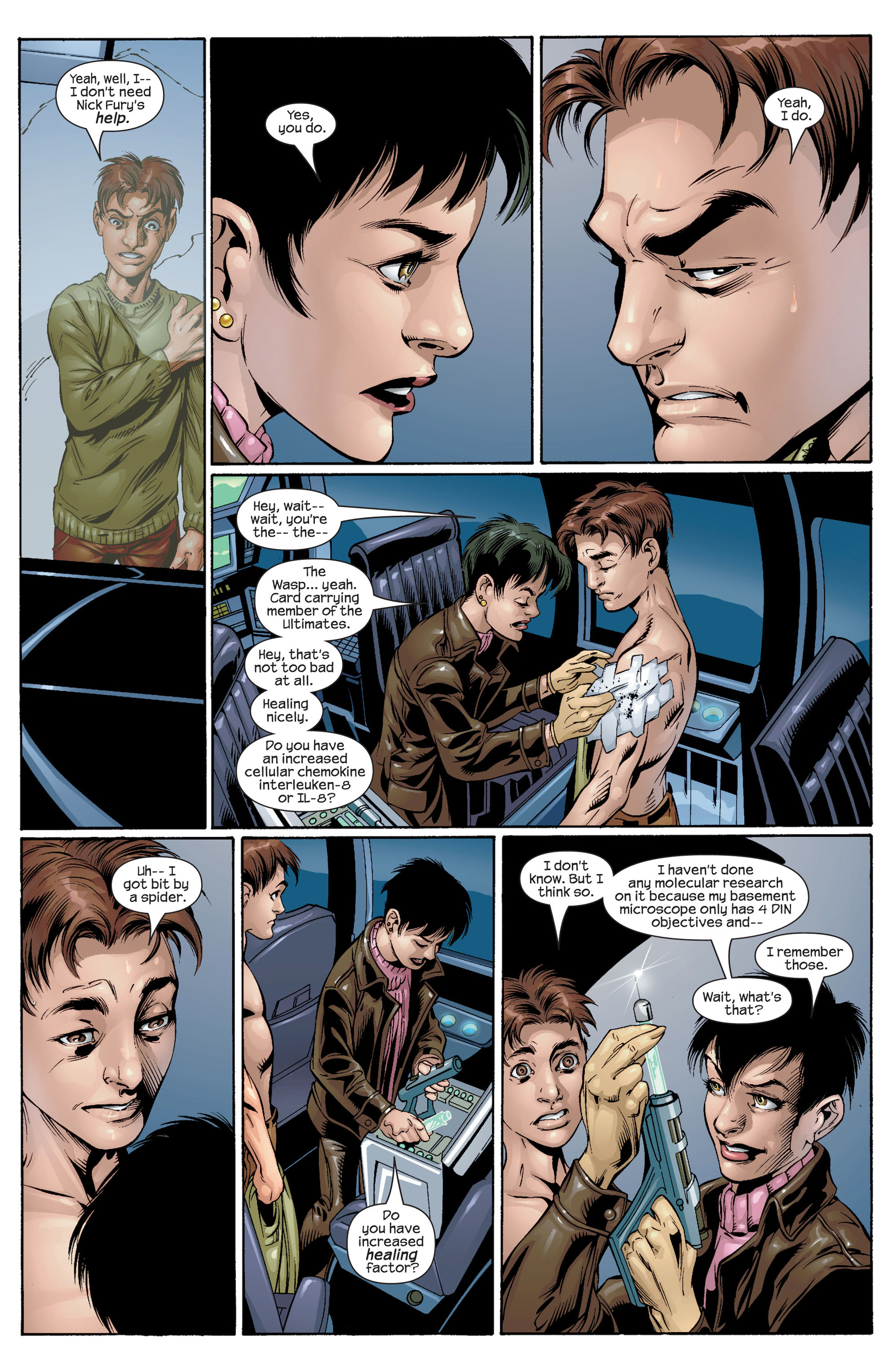 Read online Ultimate Spider-Man (2000) comic -  Issue #31 - 8