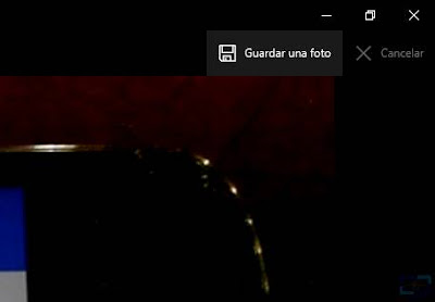 guardar foto de video windows 10