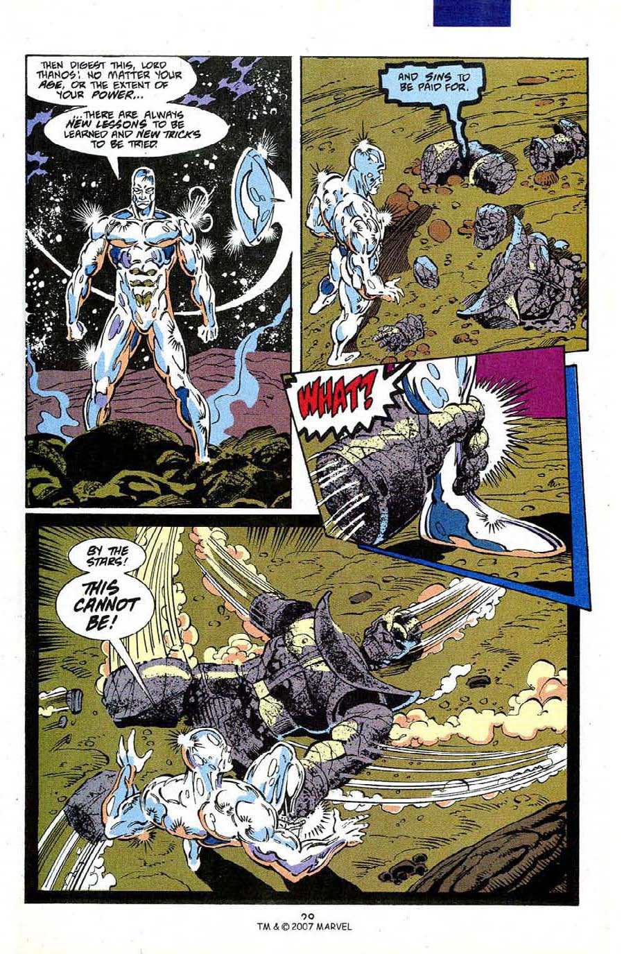 Read online Silver Surfer (1987) comic -  Issue #50 - 31