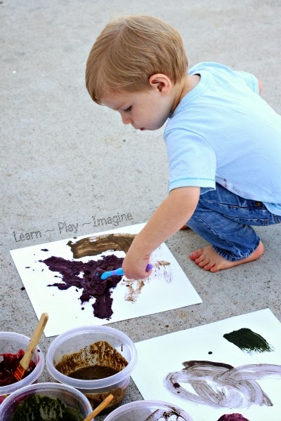 Mud Paint Recipe ~ Learn Play Imagine