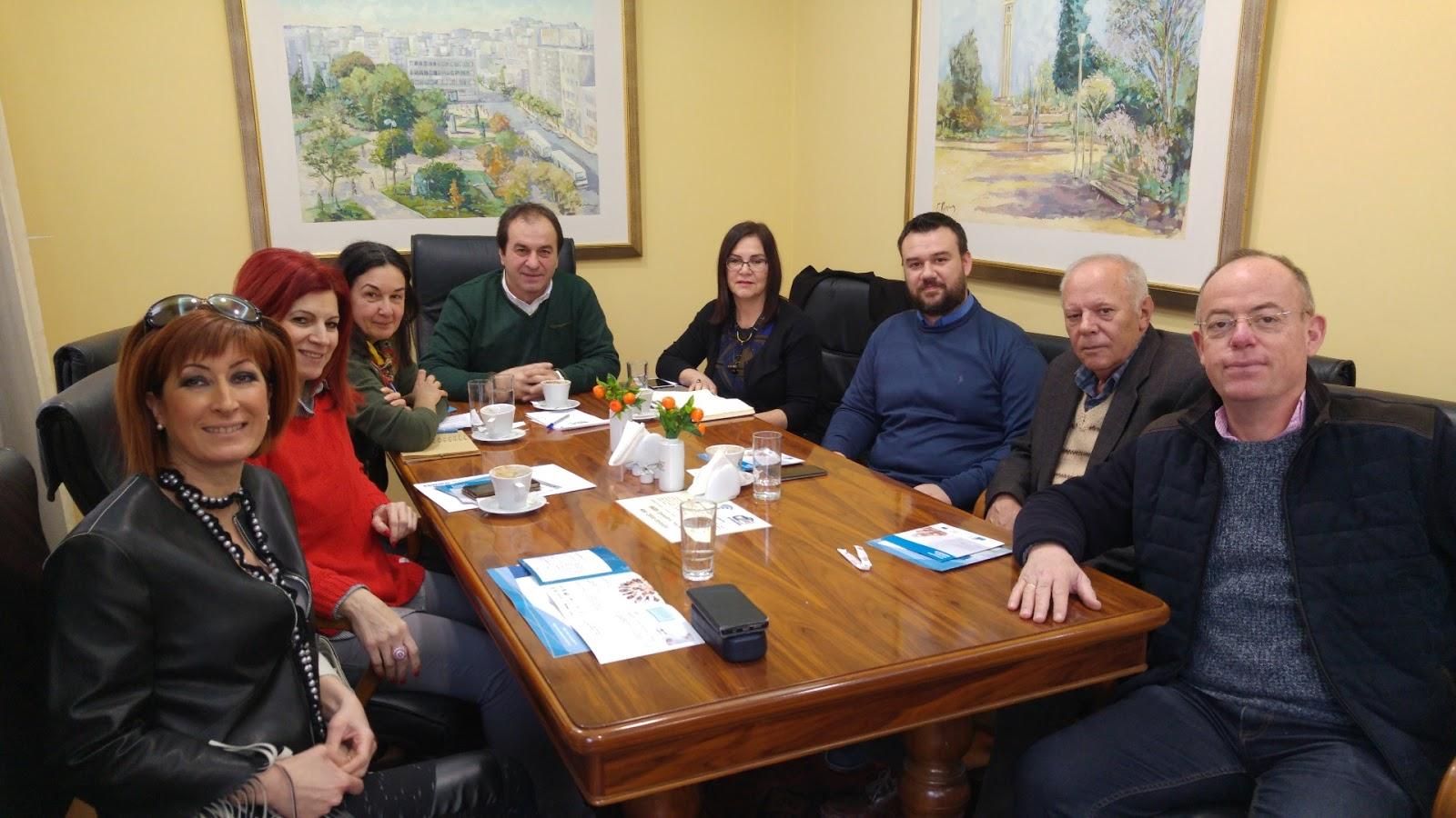 Συνεργασία του Επιμελητηρίου Λάρισας και του δικτύου Enterprise Europe Network –Hellas