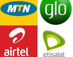 mtn, glo, airtel and etisalat logo
