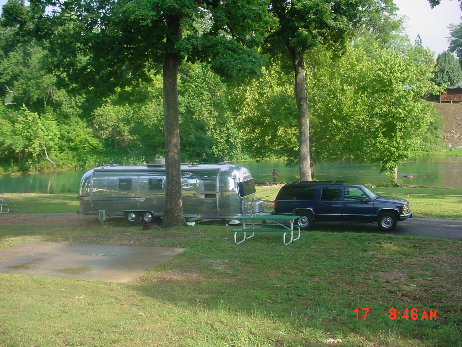 Busplunge Airstream And Liking It