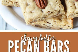 Easy to Make Chewy Butter Pecan Bars