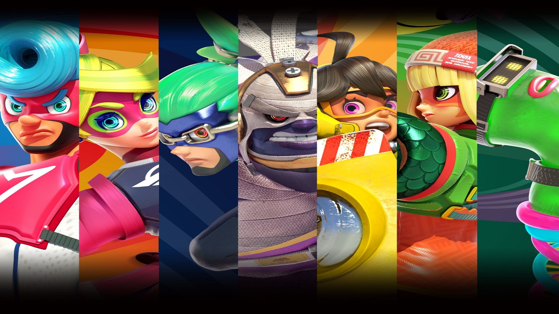 Background Images Read Games Review: Download Arms Video Game Hd Wallpapers