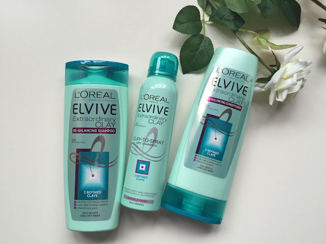 l'oreal elvive clay collection