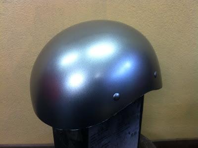 1374900450 - カスタムペイント工程  ダックテールヘルメット 奈良フレイムス