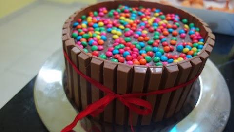 Torta de KitKat