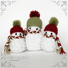 Jolly the Snowman Crochet Amigurumi Pattern – Snacksies Handicraft | 280x280