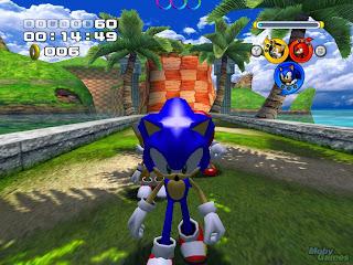 Sonic Heroes Seaside Hill