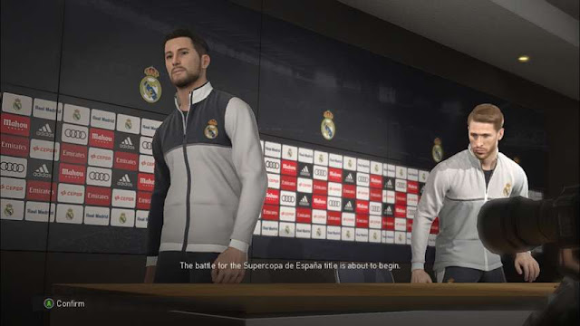 Real Madrid Press Conference Room PES 2018