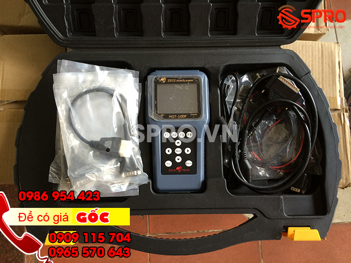 MST-100P, Thiết bị xác định lỗi xe máy phun xăng điện tử PGM FI