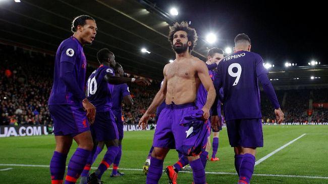 Gol ke 50 Penyerang Salah Geser City Dari Puncah Klasemen Liga Inggris 2019