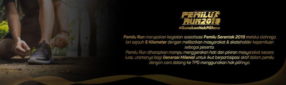 Sosialisasi Pemilu Run - Jakarta 2019