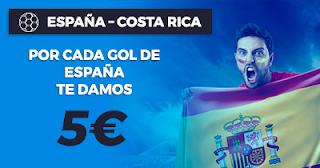 Paston Promoción Amistoso Mundial: España vs Costa Rica 11 noviembre