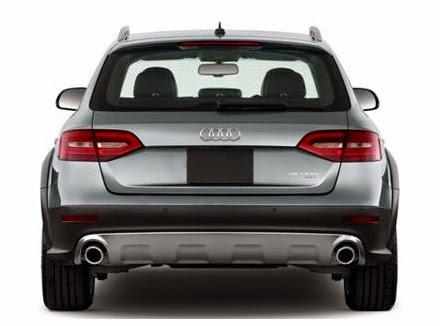 2015 Audi Allroad Rear View