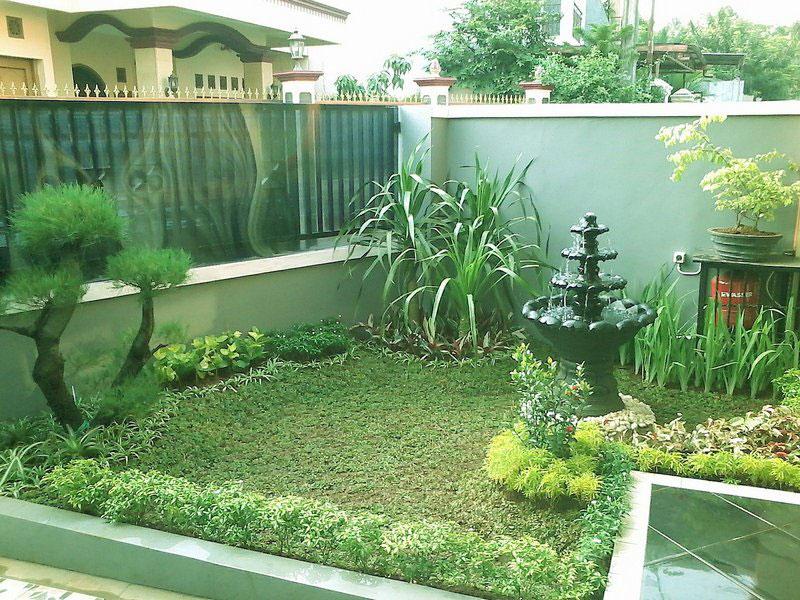 taman rumah sederhana yg terbaru