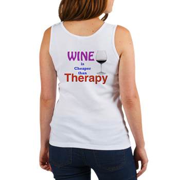 WINE ia CHEAPER than THERAPY