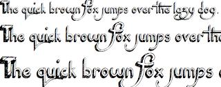 Font chữ 3D nổi bật