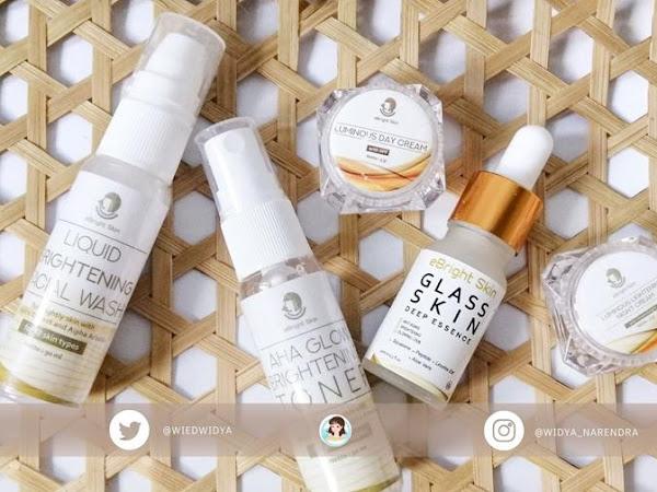 Review eBright Luminous Skin Travel Kit, Rekomendasi Skincare Series untuk Kulit Kusam