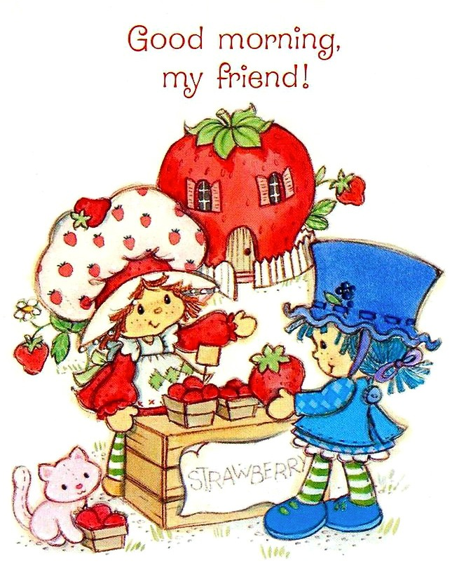A Retrospective Review Of Strawberry Shortcake S Blueberry Muffin Character The Toy Box Philosopher
