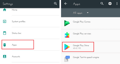Clear Google Play cache
