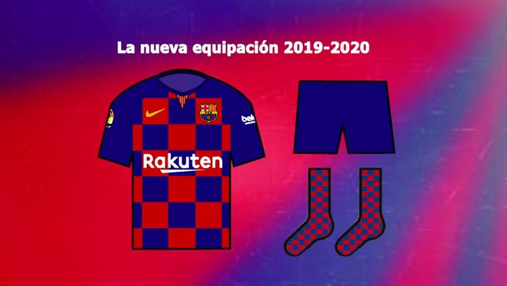 FC Barcelona 19-20 Home, Away and Third Kits Details Leaked