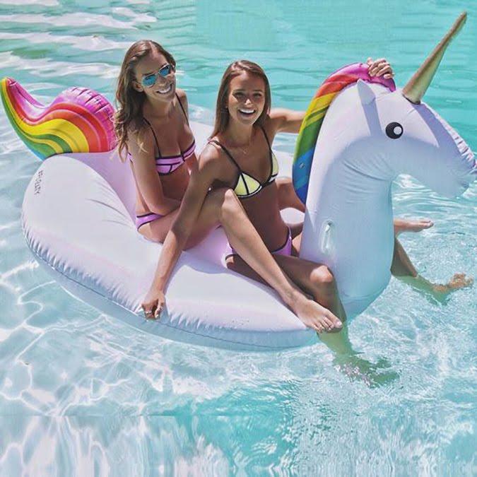 flotador unicornio instagram