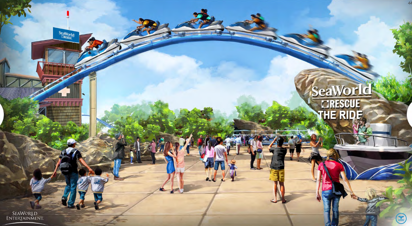 Newsplusnotes Seaworld San Antonio Begins Teasing New For 2017 Roller Coaster